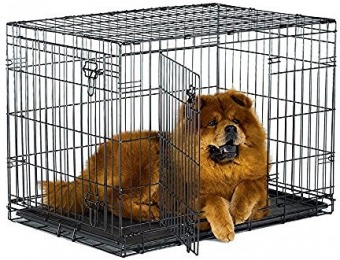 59% off New World Folding Metal Dog Crate