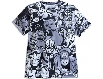 83% off Marvel Comics Collage Tee for Men