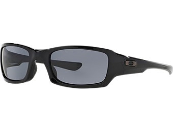 $80 off Oakley Fives Squared Black Rectangle Sunglasses - oo9238