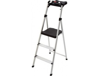 40% off Aluminum Step Stool, 3-Steps, With Project Tray