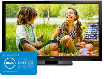 "$401 off Vizio E701I-A3 70"" 1080p LED HDTV + $200 Gift Card"