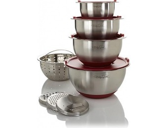 64% off Wolfgang Puck Bistro Elite 12-pc Mixing Bowl and Prep Set