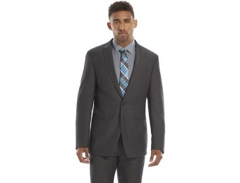 80% off Men's Andrew Fezza Slim-Fit Gray Suit Jacket
