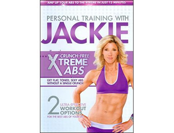 67% off Personal Training w/ Jackie: Crunch-Free Xtreme Abs DVD