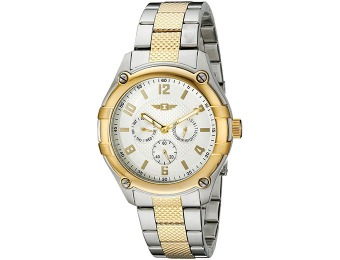 90% off I By Invicta Men's Silver Dial Two-Tone Stainless Steel Watch