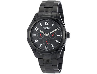 $430 off I By Invicta Men's Multi-Function Black Ion-Plated Watch