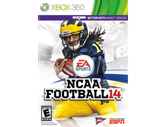 $20 off NCAA Football 14 - Xbox 360 Video Game