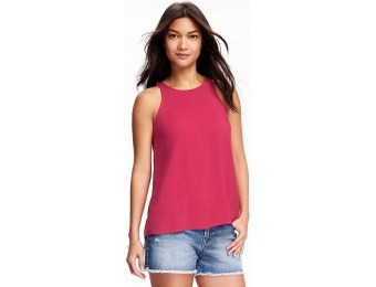78% off Old Navy Trapeze High Neck Top For Women