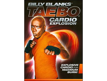 67% off Billy Blanks: Tae Bo Cardio Explosion DVD