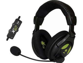 $35 off Turtle Beach Ear Force X12 Amplified Stereo Gaming Headset