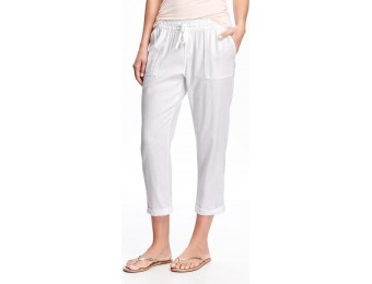 76% off Old Navy Mid Rise Cropped Pants For Women