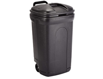 35% off 35 Gallon Trash Can with Wheels