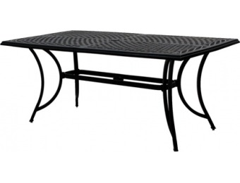 90% off Garden Treasures Crescent Cove Rectangle Dining Table