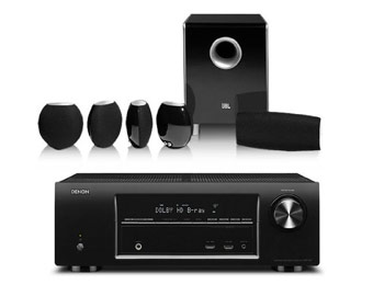 $780 off Denon AVR1613 5.1 Home Theater w/code: SD1613CS4