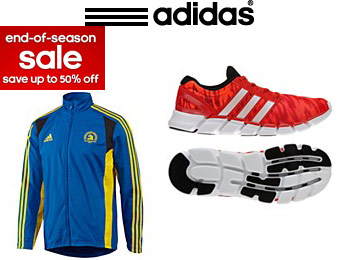 End of Season Sale - Save up to 50% off Adidas Shoes and Apparel