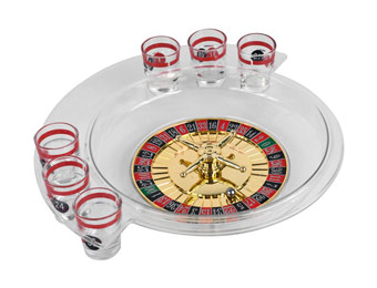 83% off Trademark Games The Spins Roulette Drinking Game