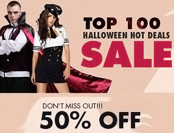 Top 100 Halloween Deals - Up to 50% off