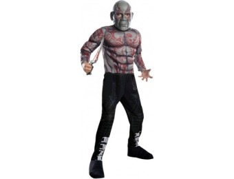 91% off Drax the Destroyer Deluxe Kids Costume