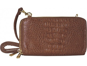 70% off Adrienne Landau Double Zip Cross Body Handbag