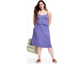 75% off Old Navy Double Strap Plus Size Cami Dress