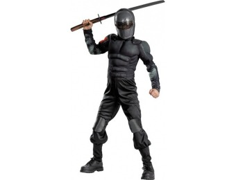 80% off Snake Eyes Muscle Kids Costume