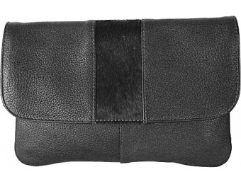 73% off Latico Leathers Miller Crossbody, Black