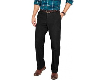 80% off Big & Tall Croft & Barrow Flat-Front Corduroy Pants