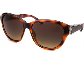 88% off Chloe Women's Square Tortoise Sunglasses