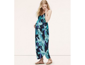 86% off LOFT Maternity Night Lily Maxi Dress