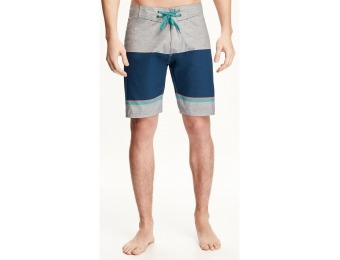 81% off Old Navy Patterned Board Shorts For Men 9""