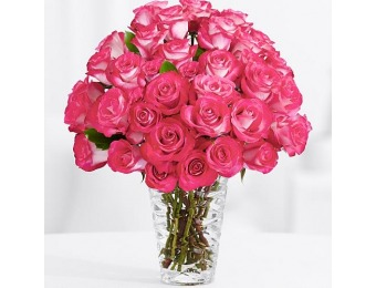 54% off 36 Pink Pearl Roses