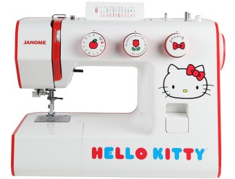 Extra $41 off Janome Hello Kitty Sewing Machine