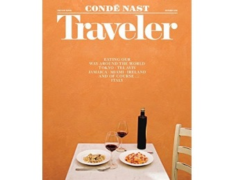 96% off Condé Nast Traveler Magazine Subscription - 4 Months