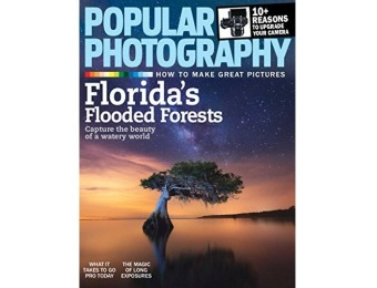 95% off Popular Photography Magazine Subscription - 4 Month Auto-renewal
