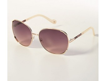 82% off Ladies Jessica Simpson Round Glam Sunglasses