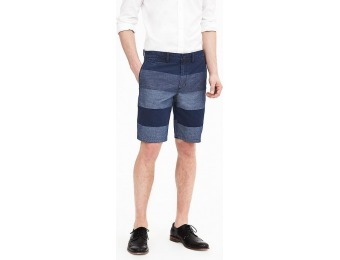 "77% off Banana Republic Aiden Slim Colorblock Cotton Short (10"")"