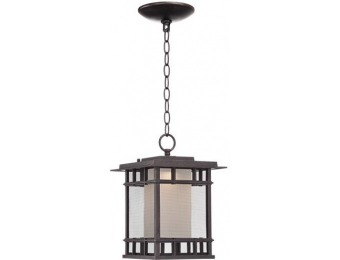 "62% off Screened 13"" High Veranda Bronze LED Outdoor Hanging Light"