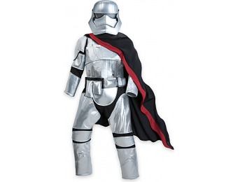 83% off Star Wars Captain Phasma Costume for Kids