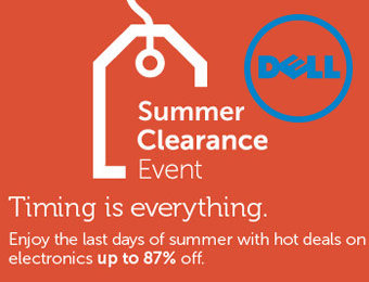 Dell Summer Clearance Sale, Up to 87% off Electronics & Accessories
