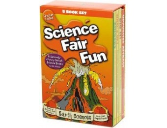 76% off Spinner Books Science Fair Fun 5-Book Set, Earth Sciences