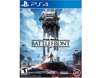 50% off Star Wars Battlefront for PS4