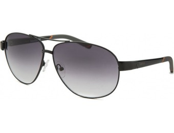 77% off Timberland Men's Aviator Black Sunglasses