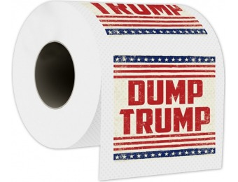 72% off Dump Trump Toilet Paper