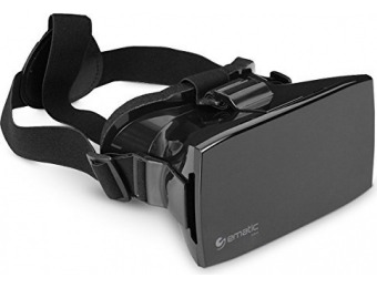 87% off Ematic EVR410 Universal VR Mobile Headset for Smartphones