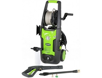 56% off GreenWorks 1700 PSI 1.2 GPM Electric Pressure Washer