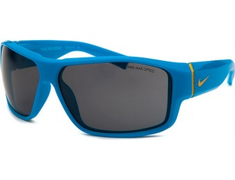 82% off Nike Boys' Reverse Rectangle Blue Sunglasses