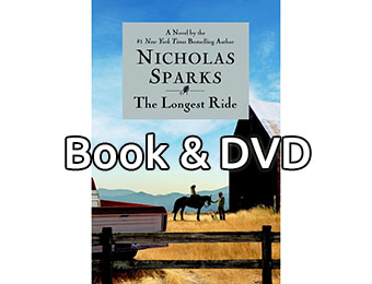 48% off The Longest Ride by Nicholas Sparks (Book & DVD)