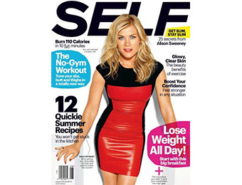 87% off Self Magazine 1 Year Subscription, promo code: 6862