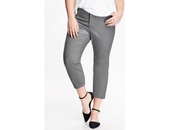 80% off Old Navy Smooth & Slim Plus Size Pixie Chinos