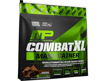 $41 off Muslce Pharm Combat XL Mass GainerFitness Supplement